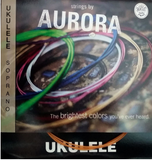 Aurora Coloured Soprano Ukulele Strings - Fretfunk  - 1
