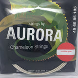 Aurora Chameleon Bass Guitar Strings (UV Enhanced) - Fretfunk  - 1