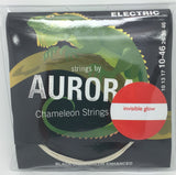 Aurora Chameleon Electric Guitar Strings (UV Invisible Glow) - Fretfunk  - 1