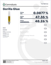 Load image into Gallery viewer, Gorilla Glue 600mg Vape