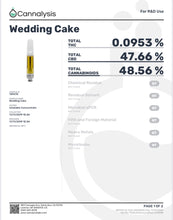 Load image into Gallery viewer, Wedding Cake 600mg Vape