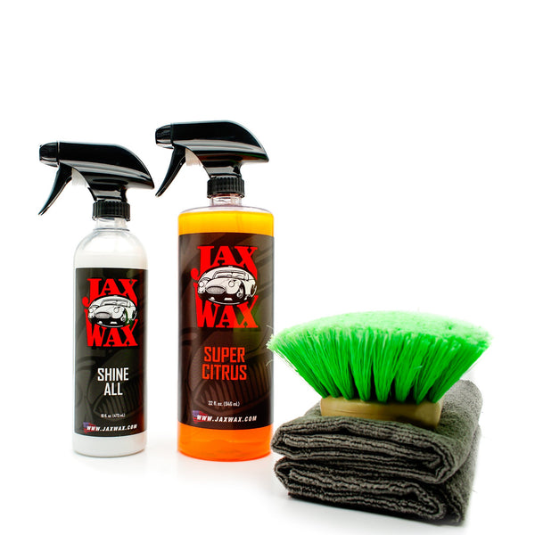 Jax Wax Engine Compartment Clean And Detail Kit