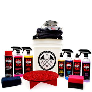 Jax Wax Essentials Exterior Bucket Kit