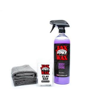 Jax Wax Professional Grade Clay Bar Kit