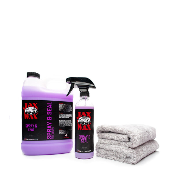 Jax Wax Spray & Seal 3785 ml Kit