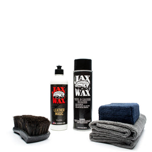 Leather Cleaning & Conditioning Kit