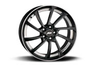 "ABT DR19"" Alloy Wheel  Satin Black / Polished T5/T6/T6.1 Fitment"