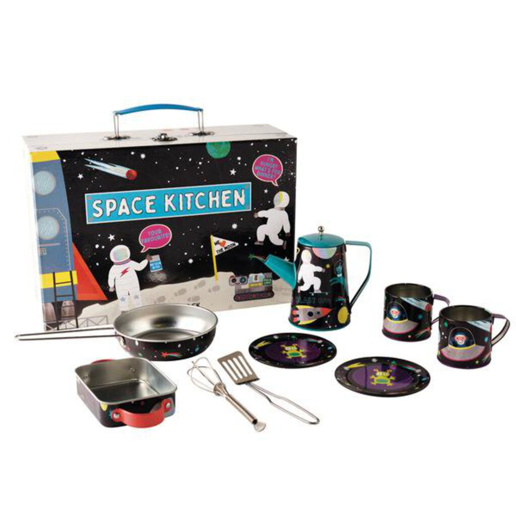Floss & Rock Space Kitchen 10pc Kitchen Set NEW
