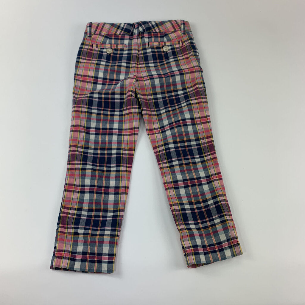 Polo Plaid Pants Size 5