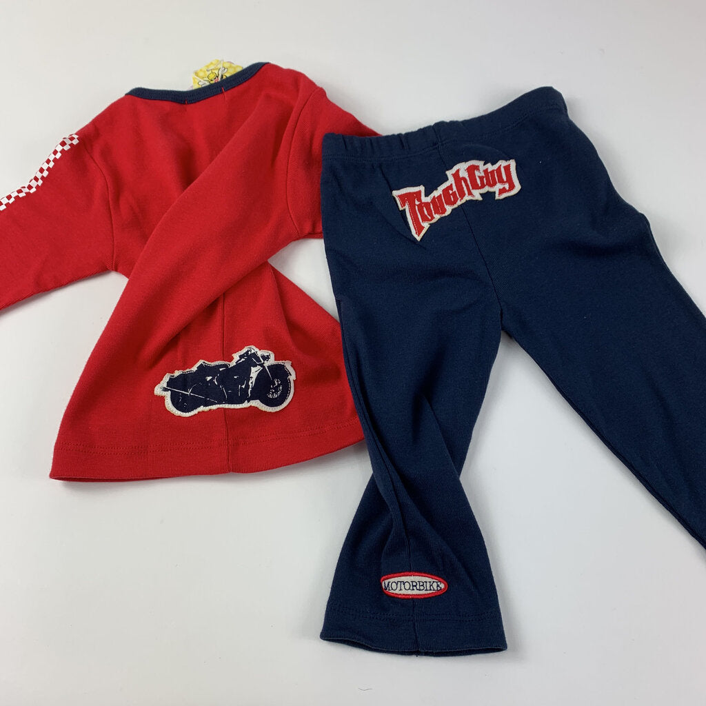 Bees And Dragons 2pc Tough Guy Set Size 18 mo