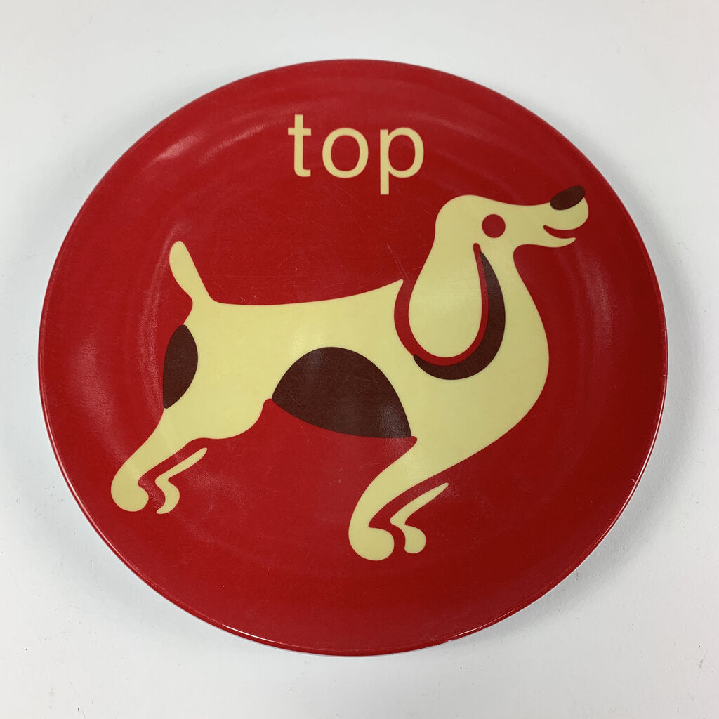 Jane Jenni Top Dog Plate
