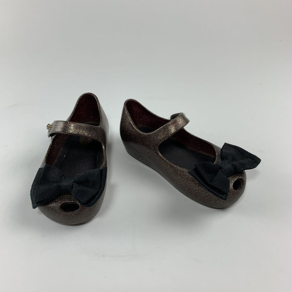 Mini Melissa Bow Shoes Size 7 Little Kid - SeeSaw Childrens Consignment