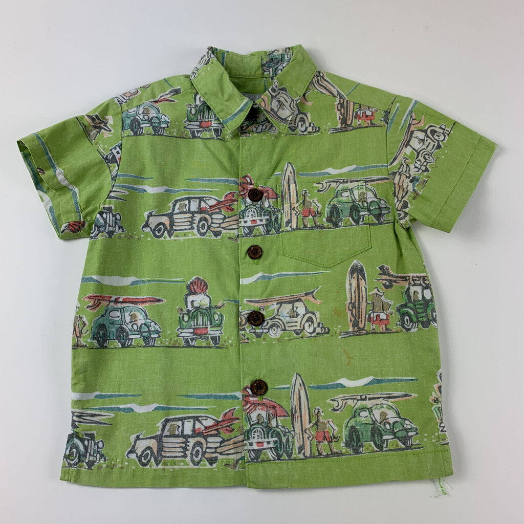 Kahala Surf Button Up Shirt Size 6-12 mo