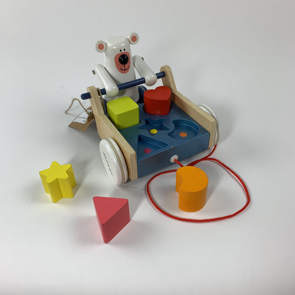 Janod shape sorter pull along - SeeSaw Childrens Consignment