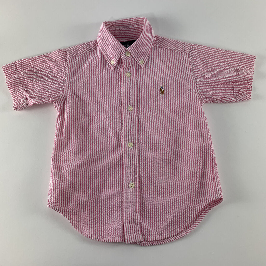Ralph Lauren Seersucker Button Up Shirt