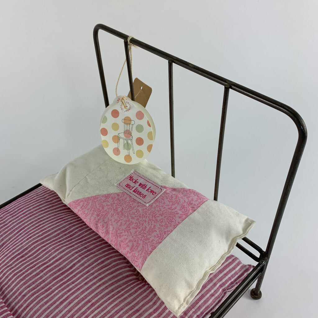 Maileg Toy Iron Doll Bed With New Tags - SeeSaw Childrens Consignment