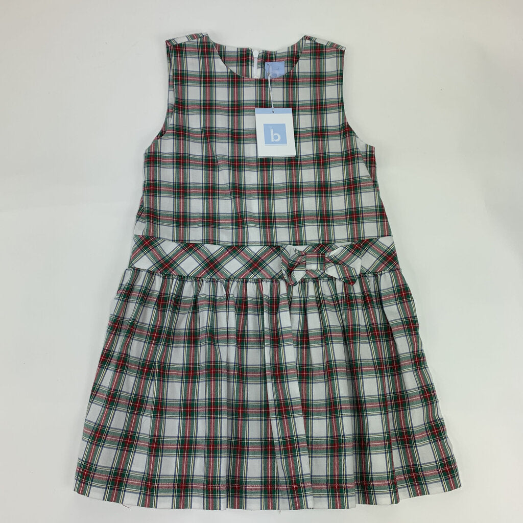 Bella Bliss Plaid Dress NEW Size 6 - SeeSaw Childrens Consignment