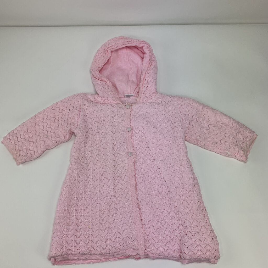 Dolce Goccia Knit Hooded Sweater Size 24 mo - SeeSaw Childrens Consignment