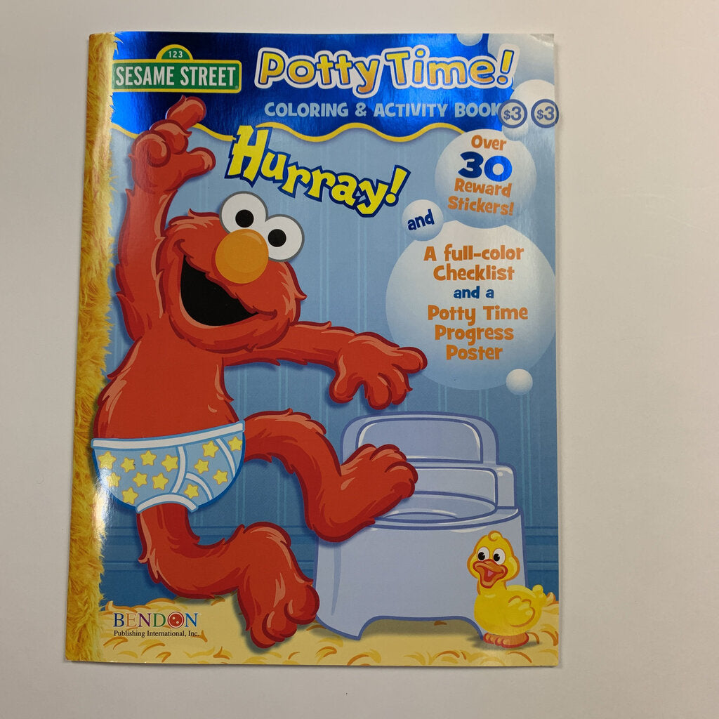 Potty Time Rewards And Stickers Book