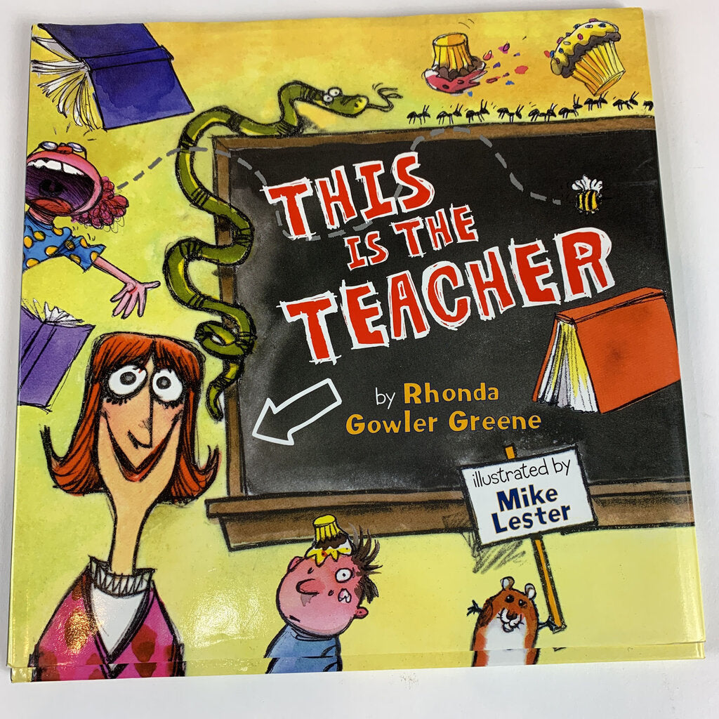 This Is The Teacher Book - SeeSaw Childrens Consignment