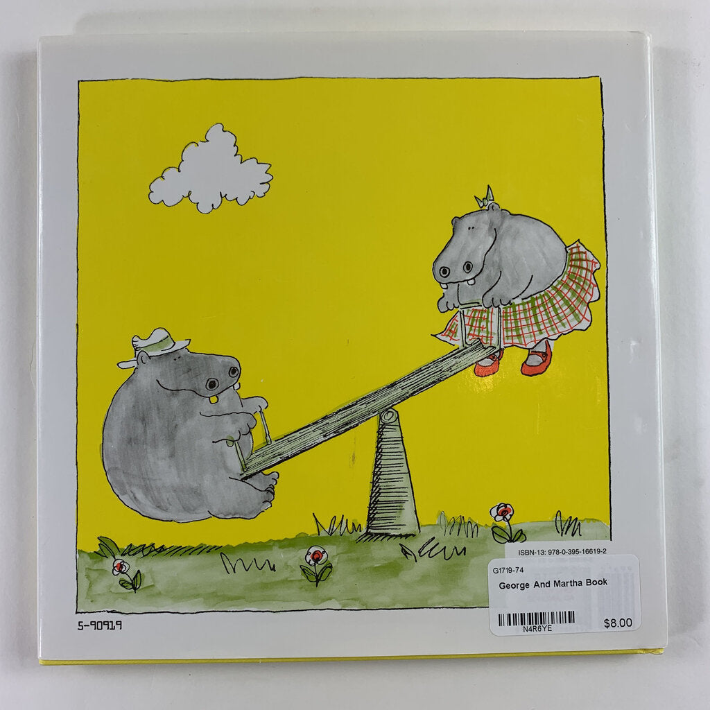 George And Martha Book - SeeSaw Childrens Consignment