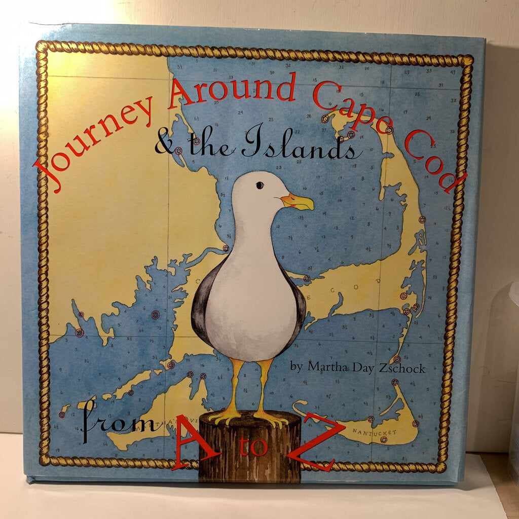 Journey Around cape Cod Book - SeeSaw Childrens Consignment