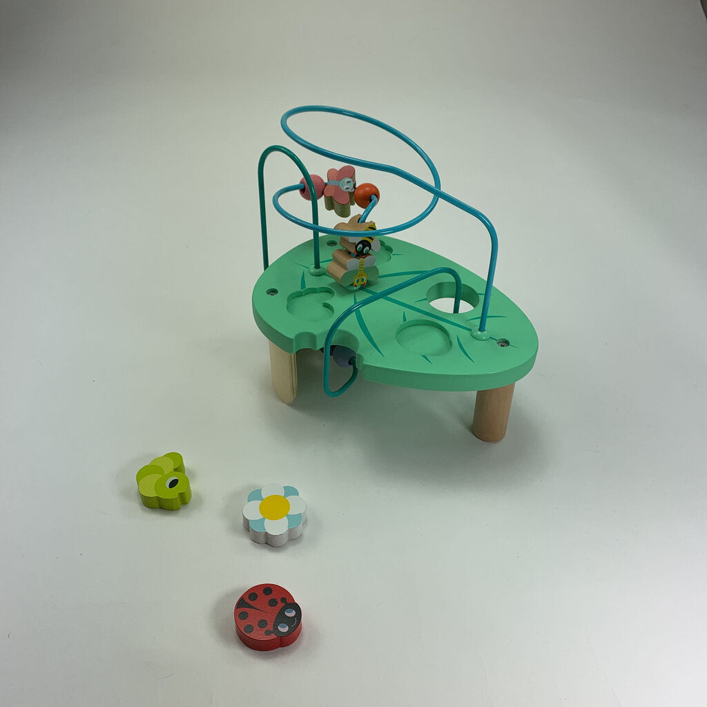 Jutatoys Wooden Small Activity Cube