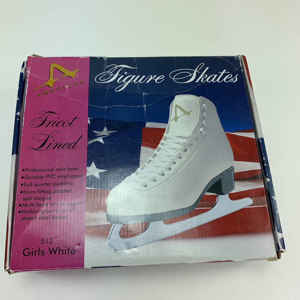 American Figure Skates New In Box Size 1
