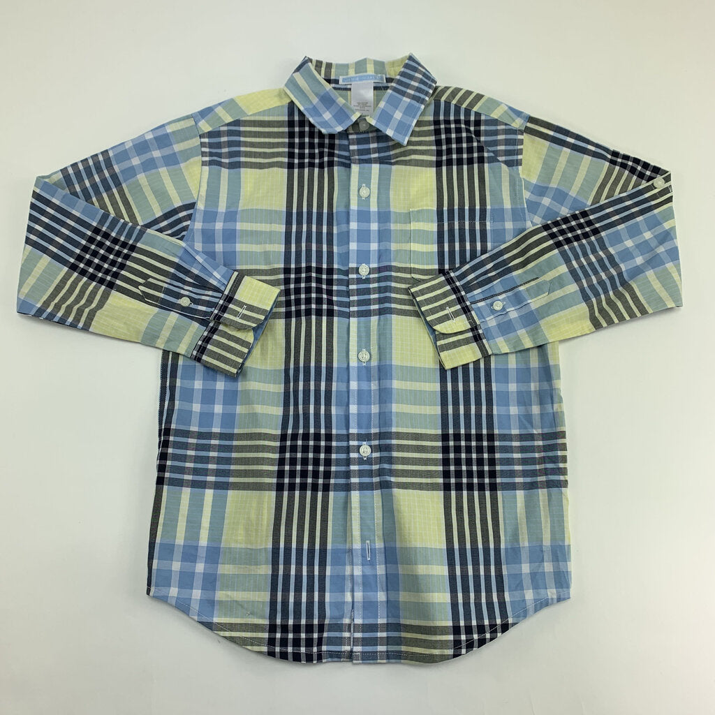 Janie Jack Button Up Shirt Size 7