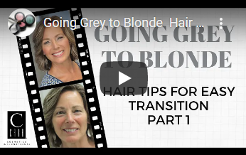 Makeovers: Going Grey to Blonde - Part 1