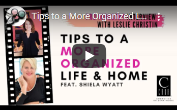 Pro Industry Interviews: Tips to a More Organized Life & Home - Shiela Wyatt