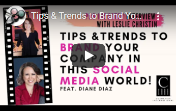 Pro Industry Interviews: Tips & Trends to Brand Your Company in the Social Media World - Diane Diaz
