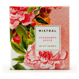 Sparkling Peony Mistral French Soap