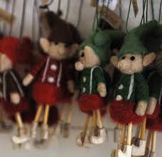 Wooly Elf Ornament