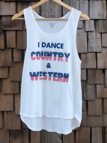 Bandit Brand Tee-I Dance Country & Western