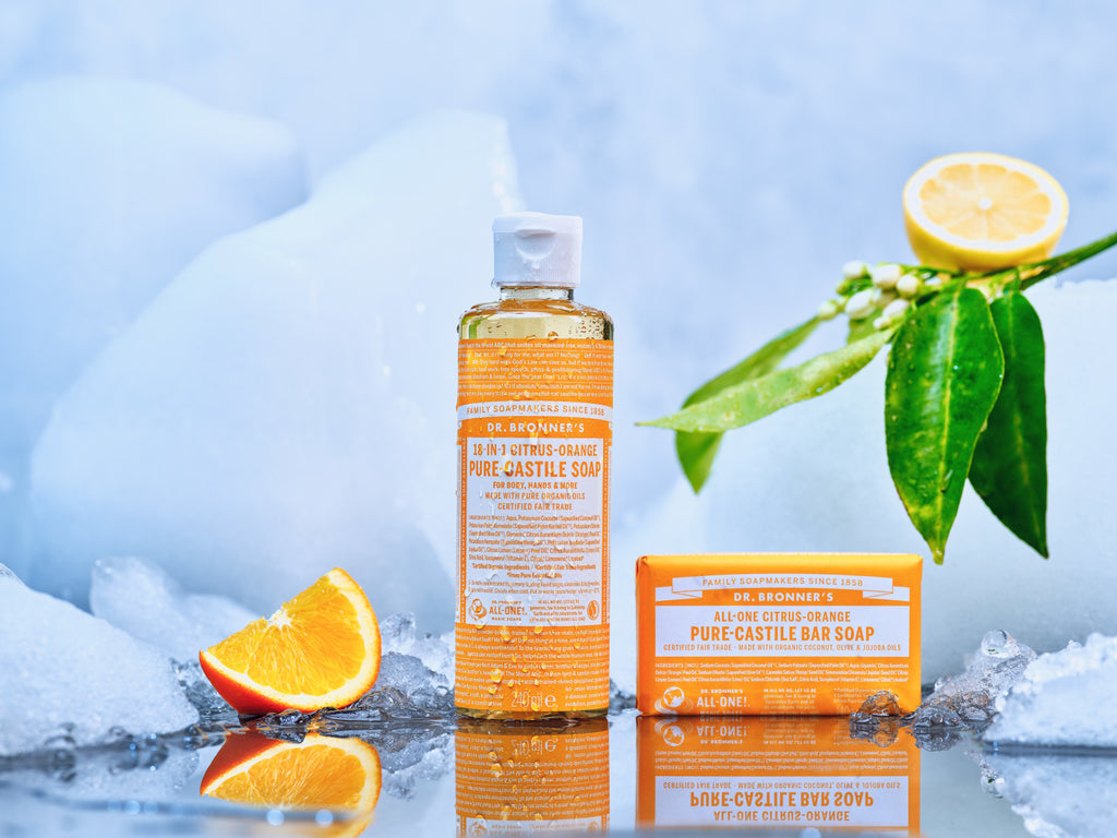 Dr Bronner's best soaps, sanitisers and much much more!