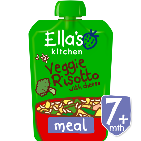 Ellas Kitchen Veggie Risotto (Org) 6x130g