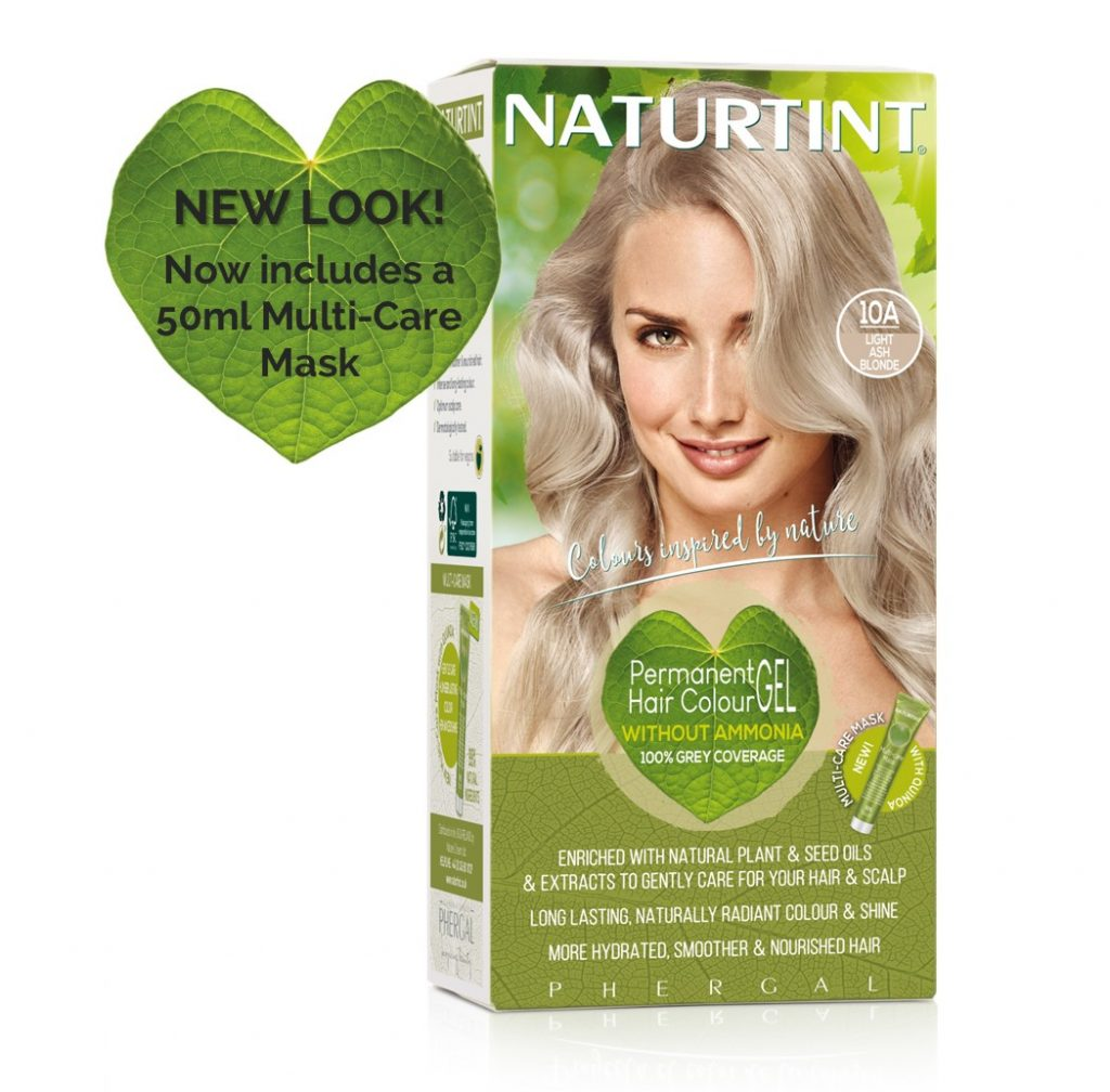 Naturtint Hair Colour - 10A Light Ash Blonde 1x155ml