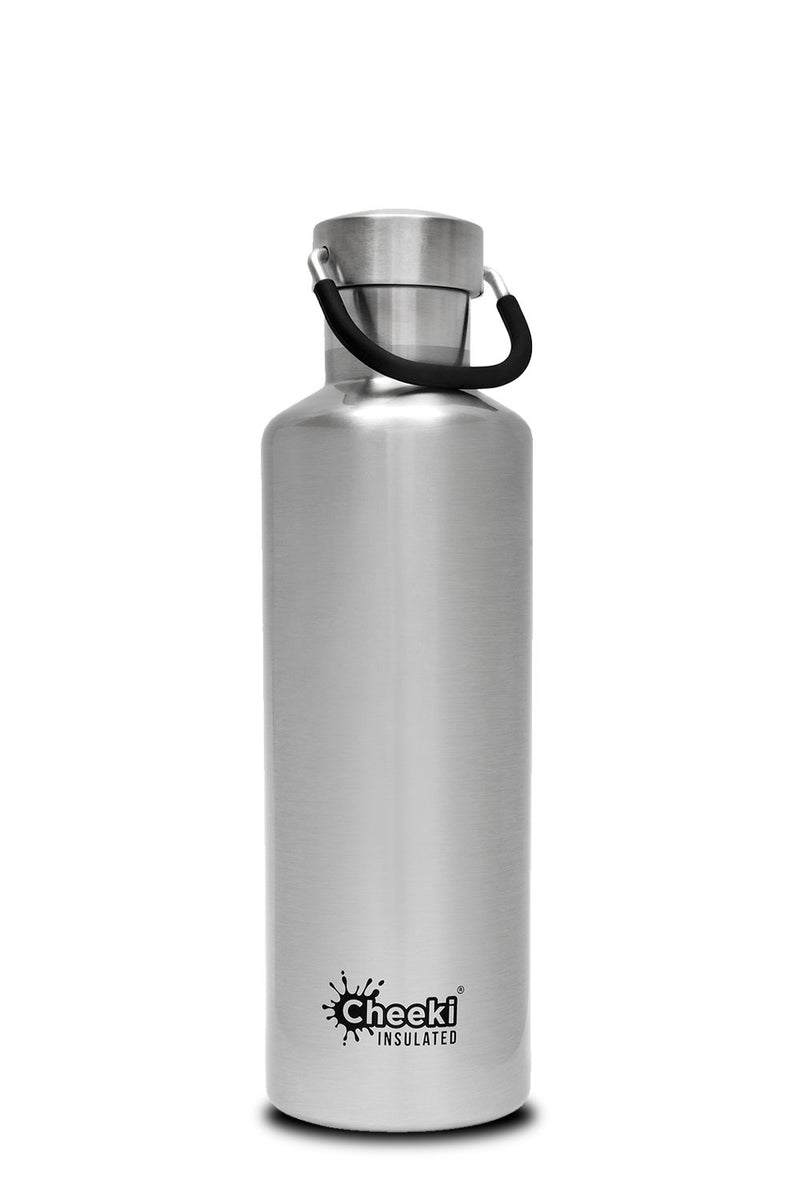 600ml Classic Insulated Bottle - Silver