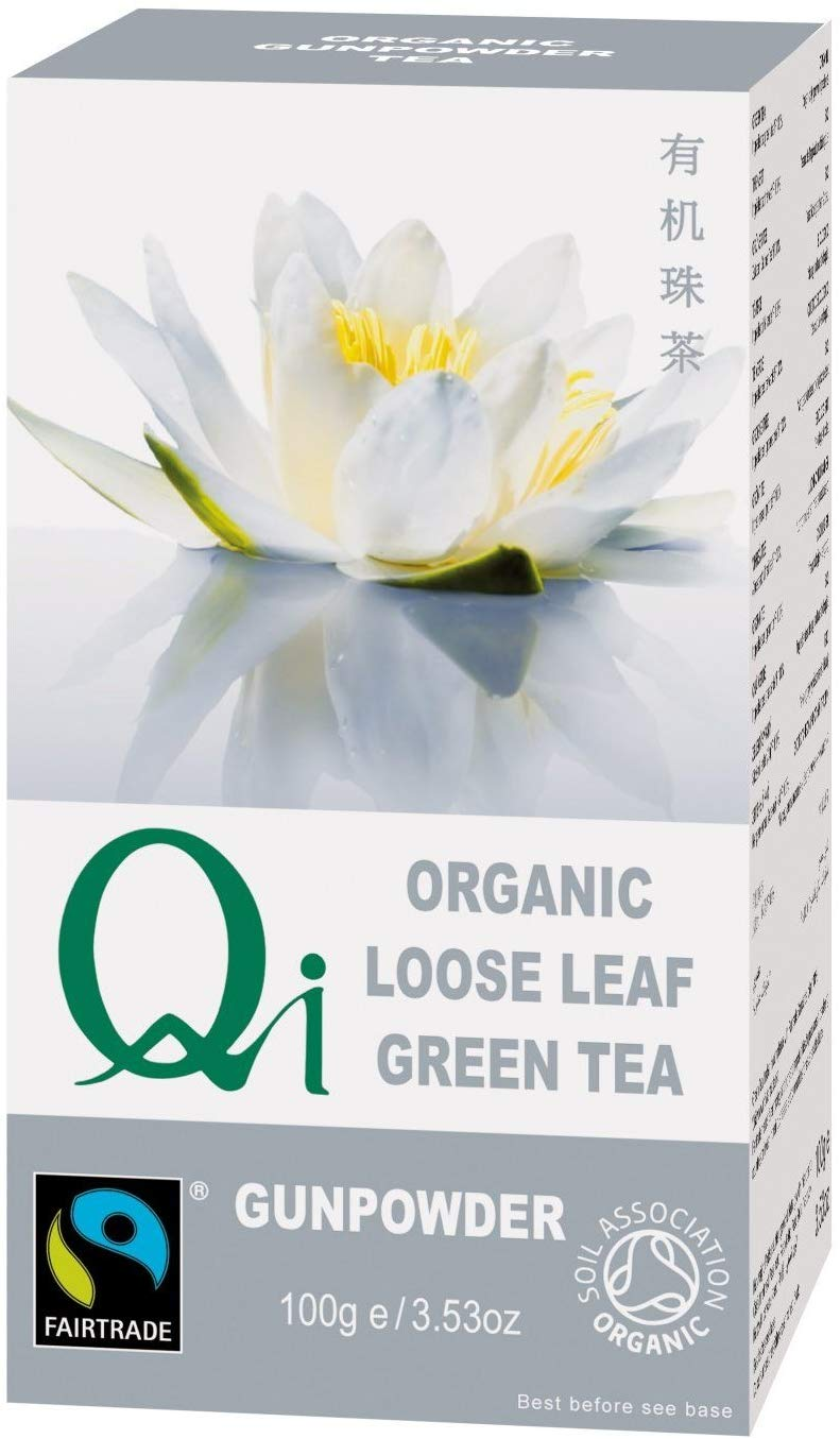 Qi Gunpowder Green Tea Loose FT (Org) 6x100g