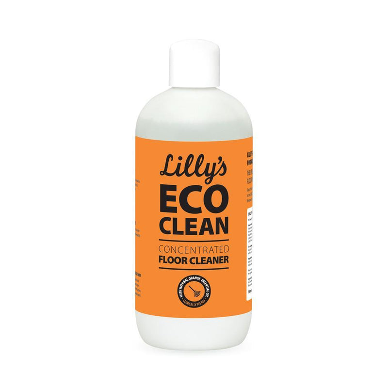 Lillys - CONCENTRATED FLOOR CLEANER WITH ORANGE OIL 6x750ML