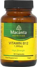 Macanta - Vitamin B12 1000mg