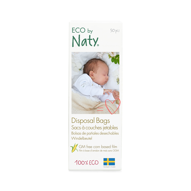Nature Baby Care Nappy Bags 1x50 pieces