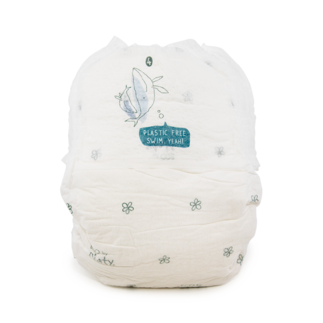 Nature Baby Care Nappy Pants - Extra Large Size 6 (35lbs +), 4x18 pieces