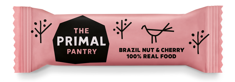 Primal Pantry - Brazil Nut & Cherry Paleo Bar 18 pack