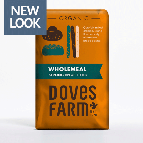 Doves Farm Foods - Strong Wholemeal Flour (Org) 5x1.5kg