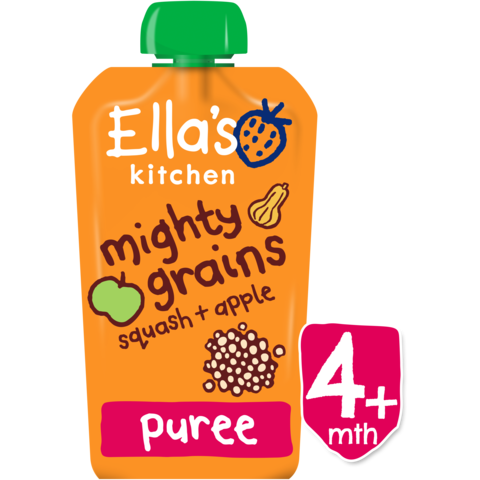 Ellas Kitchen	Squash Apple Quinoa (Org)	7x120g
