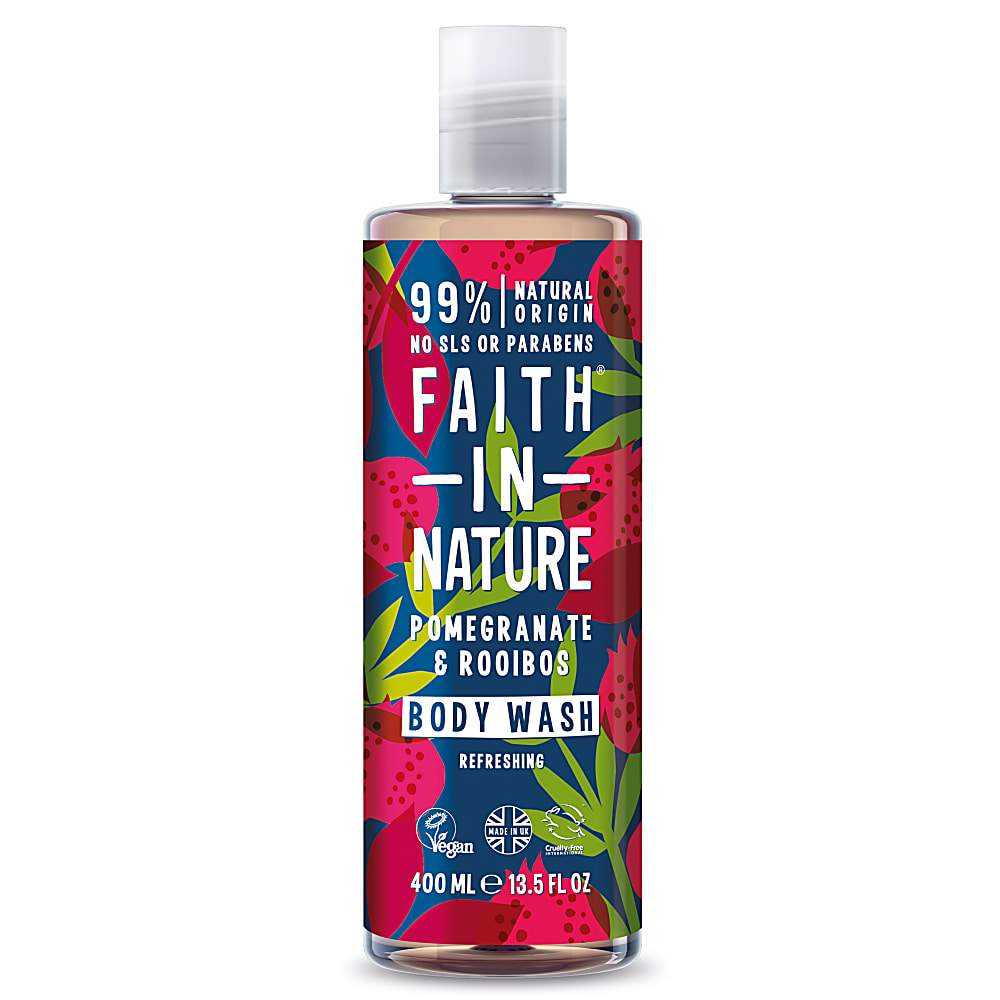 Faith In Nature - Pomegranate & Rooibos Body Wash 400ml