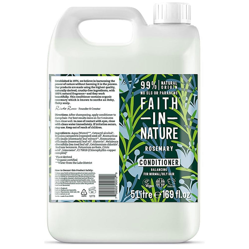 Faith In Nature - Rosemary Conditioner 5L