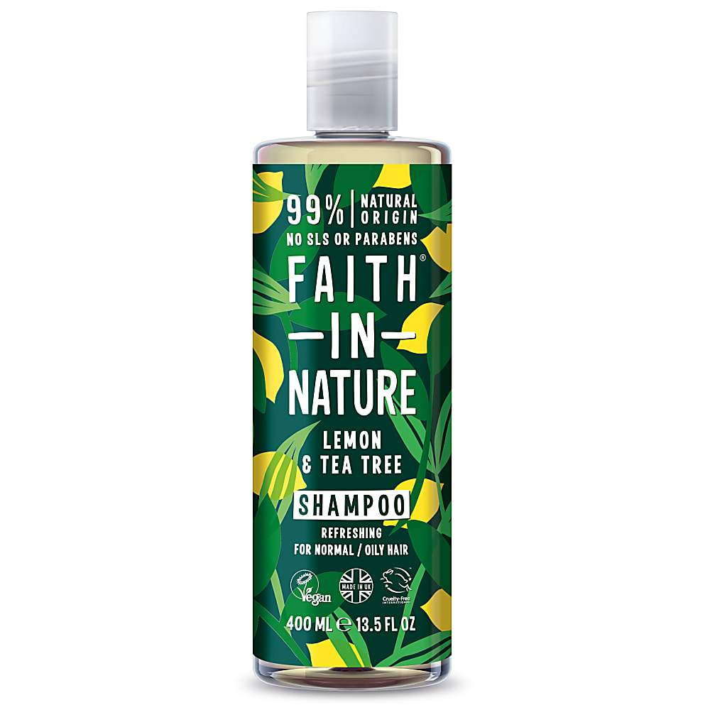 Faith In Nature - Lemon & Tea Tree Shampoo - 400ml
